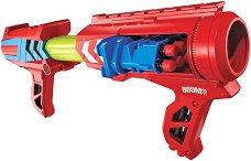 """Бластер - Mad Slammer - Комплект с 20 броя меки стрелички от серията """"BOOMco"""" -"""