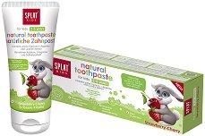 """Splat Kids Bio-Active Toothpaste Strawberry-Cherry - Детска паста за зъби с вкус на ягода и череша от серията """"Kids"""" - продукт"""
