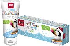 """Splat Kids Bio-Active Toothpaste Fruit Ice-Cream - Детска паста за зъби с вкус на плодов сладолед от серията """"Kids"""" - маска"""