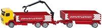 Камион за строителни материали с ремарке - Mercedes-Benz Arocs - играчка