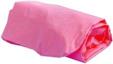 Долен чаршаф с ластик за бебешко креватче - Цвят розов -