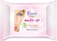 Event Make-Up Removal Wet Wipes - балсам