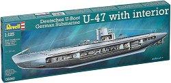 Германска подводница - German submarine U-47 - Сглобяем модел -