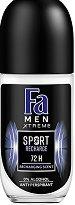 Fa Men Xtreme Sport Recharge Anti-Perspirant Roll-on - Ролон дезодорант против изпотяване за мъже - душ гел
