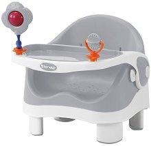 Спомагателно столче за хранене - Pixi: Grey & White - продукт