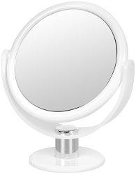 Козметично двойно огледало на стойка - С увеличение x10 -