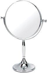 Хромирано двойно огледало на стойка - С увеличение x7 -