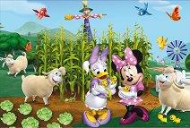 Мини Маус и Дейзи - Двулицев пъзел - кукла