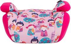 Детско столче за кола - Jazzy: Pink Dolls - За деца от 15 до 36 kg -