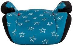 Детско столче за кола - Jazzy: Blue Stars - За деца от 15 до 36 kg - столче за кола