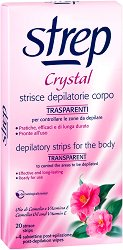 Strep Crystal Depilatory Strips Body - фон дьо тен