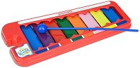 Ксилофон с 8 ноти - Детски музикален инструмент - играчка