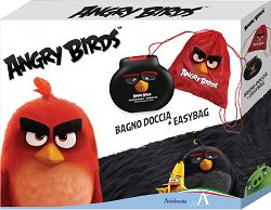 """Детски подаръчен комплект за момчета - Душ гел и раничка от серията """"Angry Birds"""" -"""