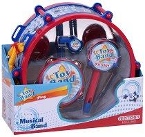 Детски музикални инструменти - Комплект от 6 броя - играчка