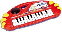 Електронно пиано с 22 клавиша - Детски музикален инструмент - играчка