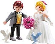 """Младоженци - Детски конструктор от серията """"Кукленска къща"""" -"""