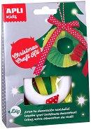 Създай сам - Коледен венец - Творчески комплект - творчески комплект