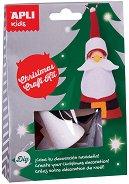 Направи сам - Дядо Коледа - Творчески комплект - творчески комплект