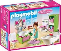 """Ретро баня - Детски конструктор от серията """"Кукленска къща"""" - играчка"""