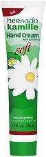 """Herbacin Kamille Hand Cream Soft - Крем за ръце с лайка и пантенол от серията """"Kamille"""" - сапун"""