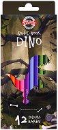 Цветни моливи - Dino - Комплект от 6, 12, 24 или 36 цвята