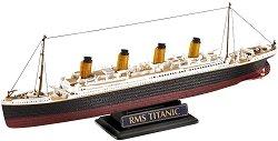 Кораб - R.M.S. Titanic - Два сглобяеми модела - комплект с лепило и боички -