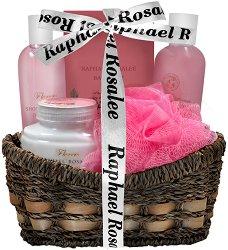 Raphael Rosalee Flowers No.94 - Подаръчен комплект с козметика за тяло с аромат на роза - паста за зъби