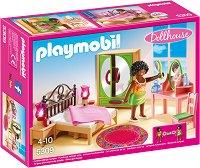 """Спалня - Детски конструктор от серията """"Кукленска къща"""" - играчка"""
