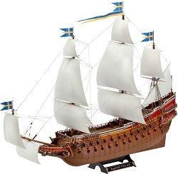 Военен кораб - Vasa - Сглобяем модел с лепило и боички -