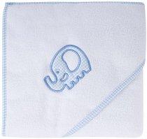 Хавлия за баня - Синьо слонче - Размер 80 x 95 cm -