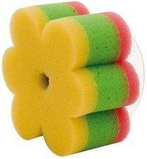 Детска гъба за баня - Цвете - Комплект със закачалка за баня -