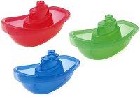 Цветни лодки - играчка