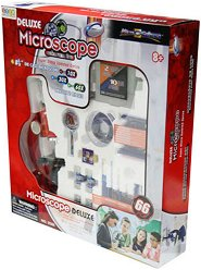 Детски микроскоп - Ученически изследователски комплект - играчка