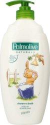 """Palmolive Naturals Kids - Душ гел за деца с екстракти от бадем и алое вера от серията """"Naturals"""" -"""