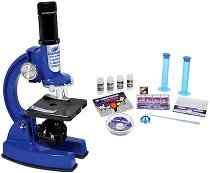 Детски микроскоп - Изследователски комплект -