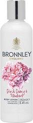 """Bronnley Pink Peony & Rhubarb Body Lotion - Лосион за тяло с аромат на божур и ревен от серията """"Pink Peony & Rhubarb"""" - парфюм"""