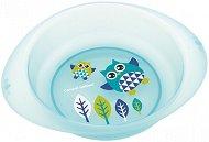 Синя купичка за хранене - Owls 320 ml - За бебета над 6 месеца -