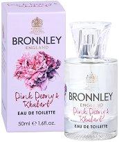 Bronnley Pink Peony & Rhubarb EDT - Дамски парфюм - сапун