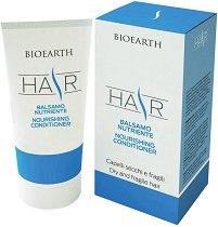 """Bioearth Hair Nourishing Conditioner - Подхранващ балсам за суха и чуплива коса от серията """"Hair"""" -"""