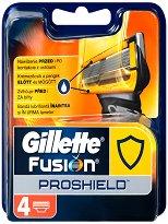 """Gillette Fusion ProShield Cartidges - Резервни ножчета в опаковка от 4 броя от серията """"Fusion"""" - гел"""