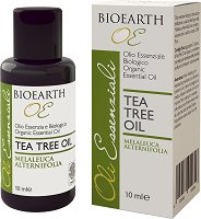 Bioearth Organic Essential Oil Tea Tree Oil - Био етерично масло от чаено дърво - сапун