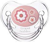 """Розова силиконова залъгалка с ортодонтична форма - От серия """"Newborn Baby"""" - продукт"""