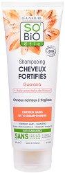 SO BiO Etic Shampooing Doux Niaouli & Guarana - Шампоан за нормална към крехка коса с био ниаули и гуарана - продукт