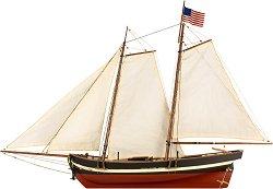 Шхуна - Swift 1805 - Сглобяем модел на кораб от дърво - макет