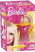 """Комплект за приготвяне на кафе - Играчки от серията """"Barbie"""" -"""