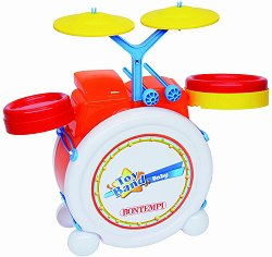 Барабани - Детски музикален инструмент - играчка