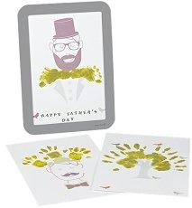 Рамка за отпечатък - Подарък за татко - Комплект с боя и стикери -