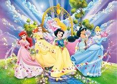 Принцесите на Дисни - Двулицев пъзел - пъзел