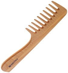 Гребен за коса от букова дървесина -