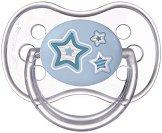 """Синя силиконова залъгалка - От серия """"Newborn Baby"""" -"""